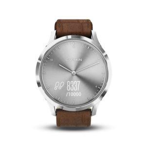 garmin indonesia-jual garmin surabya-garmin vivomove HR premium silver brown2