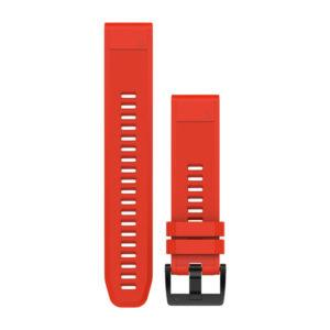 strap garmin original-garmin band surabaya-quickfit 22 strap watch red