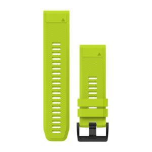 strap garmin original-garmin watch band-quck fit 26 Amp yellow
