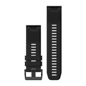 strap garmin original-garmin watch band-quck fit 26 black