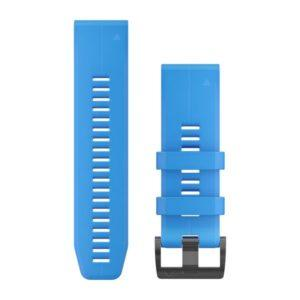 strap garmin original-garmin watch band-quck fit 26 blue cyan1
