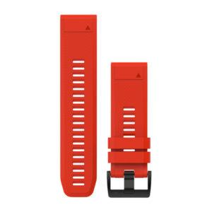 strap garmin original-garmin watch band-quck fit 26 flame red