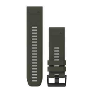 strap garmin original-garmin watch band-quck fit 26 moss green