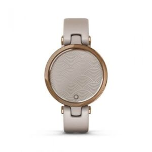 Garmin Lily Rose Gold Silicone Band