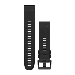 QuickFit 22 Watch Bands Black/Black